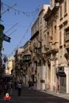 Una calle en Valletta